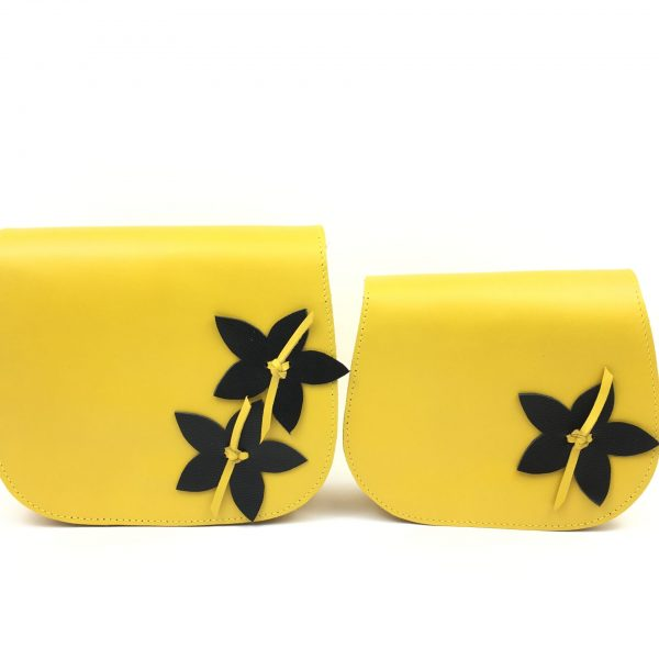 Set poșetute Georgia galben/flori