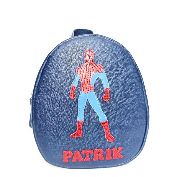 Rucsacel gradinita Spiderman, din piele naturala