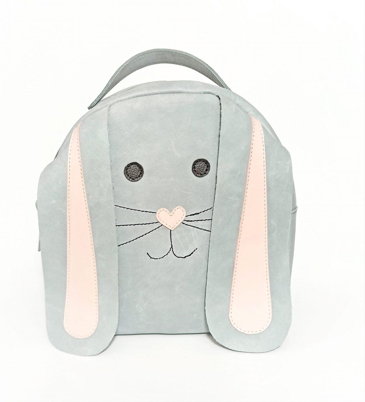Rucsac din piele naturala Mini Candy *Little Bunny*