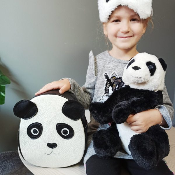 Rucsac din piele naturala *Ursuletul Panda*