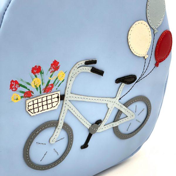 Rucsac gradi din piele naturala * Bicicleta *
